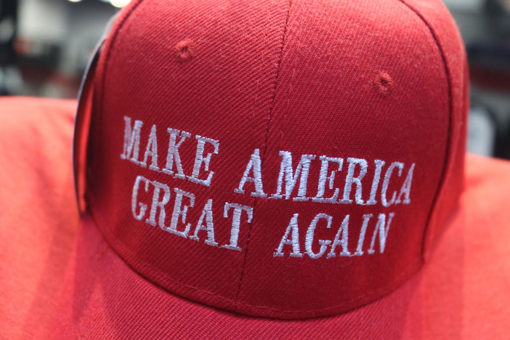 Make America Great Again Hat In NYC