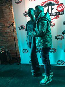 Justine Skye performing at Top Cats in Cincinnati