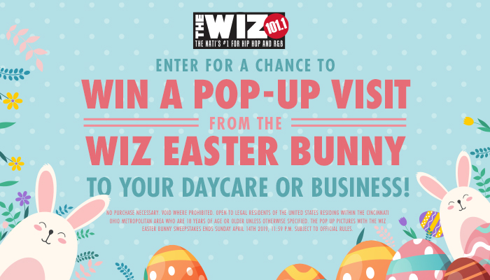 Pop Up Pictures with The Easter Bunny