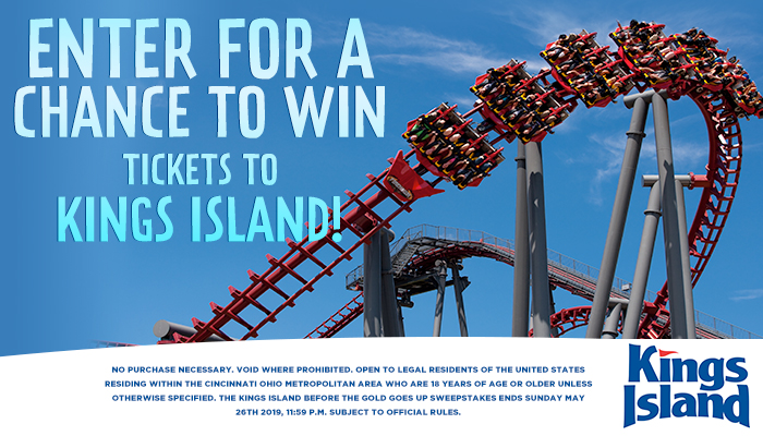 KINGS ISLAND REGISTER TO WIN - GIVEAWAY