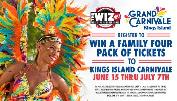 Kings Island Carnivale Giveaway RD WIZF June 2019