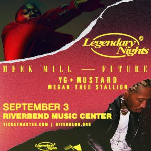 Meek Mill Future Legendary Nights Tour Cincinnati