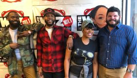 Tropikana and DJ J Dough with Adam and Ta'Von from Caracole