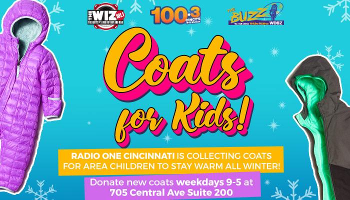 Coats for Kids Cincinnati