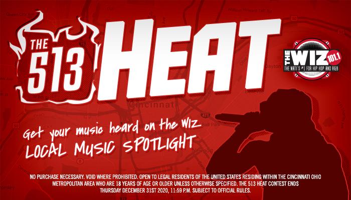 Local: 513 Heat_RD Cincinnati WIZF_January 2020