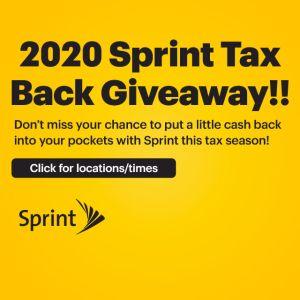 Sprint Rookwood Tax Promotion