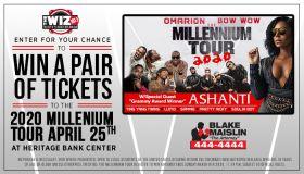 Millennium Tour Enter to Win Contest