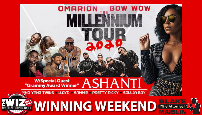 WIZ WINNING WEEKEND MILLENNIUM TOUR