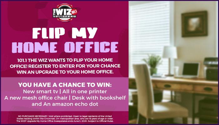 FLIP MY HOME OFFICE- Cincinnati_RD Cincinnati WIZF_May 2020